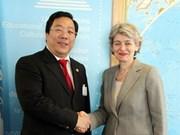 越南积极参与联合国教科文组织各项活动