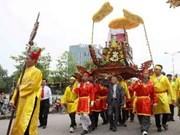 2013年雄王忌日暨雄王庙会迎轿仪式隆重举行