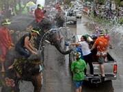缅甸人民欢度传统节日