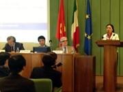 越南欢迎意大利投资商来越南投资