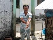 法国开发署帮助越南槟椥省建设供水厂