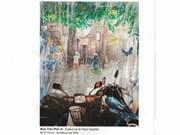 越南画家与摄影艺术家参加法国国际展会