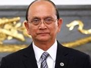 缅甸总统吴登盛卸任执政党主席职务