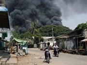 缅甸呼吁民众与政府携手制止暴力冲突爆发