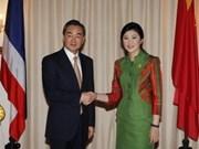中国外交部长王毅出访东南亚四国