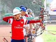 越南全国130名选手参加2013年第16届国家射箭杯