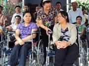 越南坚江省拨出近200亿越盾协助残疾人重返社会
