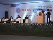 越南参加2013年亚洲开发银行理事会第46届年会