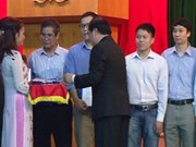 越南教育培训部向数学专业优秀学生颁发奖学金