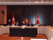 东盟与加拿大承诺加强合作