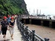 广宁省接待游客量达逾350万人次