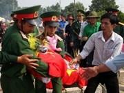 越南和老挝紧密合作寻找越南志愿军烈士骸骨