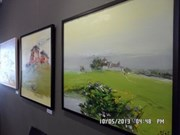 越南-韩国当代美术画展在韩国开幕