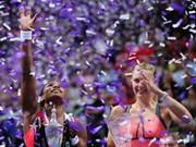 2013年世界女子网球锦标赛会吸引数万观众到场