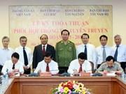越通社与西北、西原和西南部指委会签署合作协议