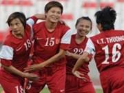 越南女足打败中国香港女足入围2014年亚洲杯总决赛