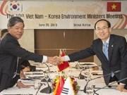 越韩加强环境领域的合作