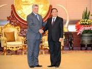 老挝和古巴深化友谊与全面合作关系