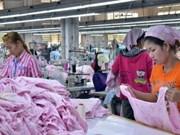 2013年前5个月柬埔寨对外贸易金额猛增
