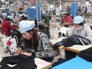越南纺织服装业在国际市场上占有一席之地
