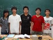 越南5名学生参加2013年国际物理奥林匹克竞赛均夺得奖牌