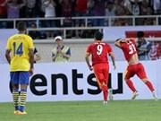 越南与阿森纳国际足球友谊赛:阿森纳队获胜