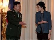 泰国与中国加强防务合作