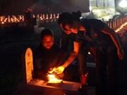 越南广治省举行烛光祭悼念英雄烈士
