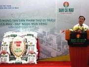 越南金瓯化肥厂第100万吨产品下线