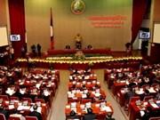 老挝第7届国会第5次会议落下帷幕