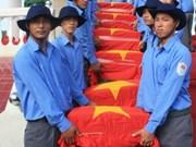 越南同塔省为烈士遗骸举行追悼会暨安葬仪式