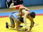 越南全国青少年古典式、自由式摔跤锦标赛进入尾声