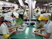 越南外资企业出口金额保持较快增长速度