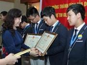 越南国家主席致信表扬参加国际数学奥林匹克竞赛的越南学生代表团