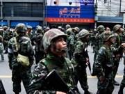 泰国军队否认政变传言