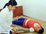 8·10越南橙毒剂受害者日:各省向橙毒剂受害者送礼