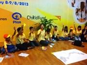 2013年越南国家少儿论坛在河内开幕