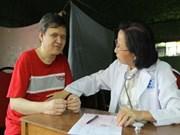 越南胡志明市努力抚平橙毒剂受害者之伤痛