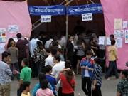柬埔寨公布第5届国会选举的初步结果