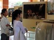 越南九龙江三角洲第18次美术展拉开序幕
