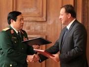 越保防务关系助推两国合作关系深入发展
