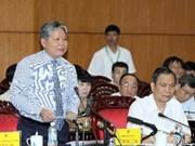 越南国会常务委员会对司法部长进行质询
