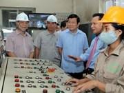 越南国家主席张晋创赴太原省调研指导工作