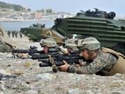 印尼与美国举行联合军事演习