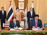 泰国与巴基斯坦深化合作关系