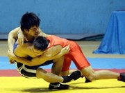 越南2013年全国青少年传统摔跤大赛圆满结束