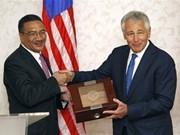 美国与马来西亚加强防务合作