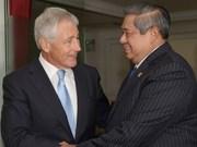 美国防长访问印度尼西亚