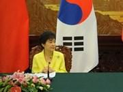 韩国总统对越南进行国事访问