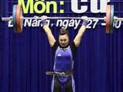 2013年全国举重锦标赛开赛